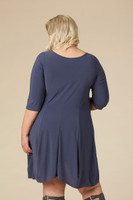 Swing Out Sister Dress - Grey