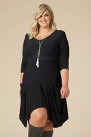 Always Adorable Dress - Black