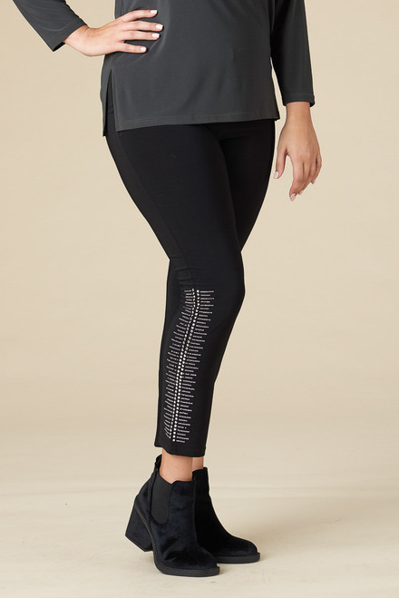 Bling, Bang, Boom Legging - Black