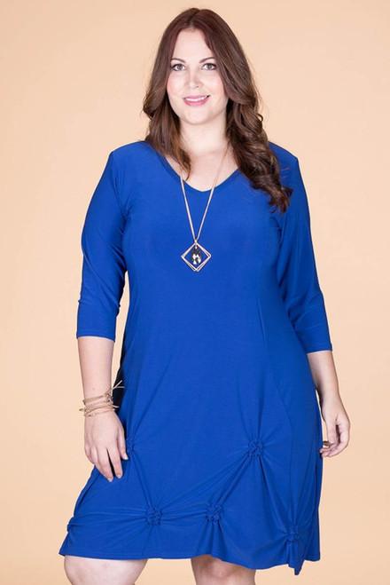 In a Pinch Dress - Cobalt Blue