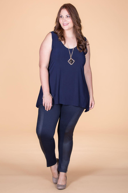 Seize The Day Leggings - Blue