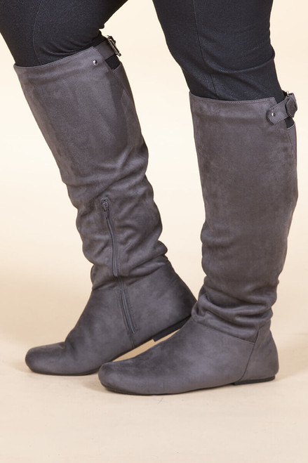 Super Soft Suede ƒ?? Charcoal