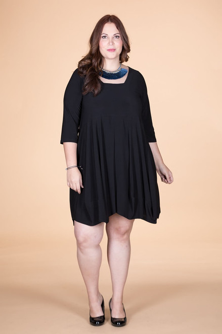 Swing Out Sister Dress - Black