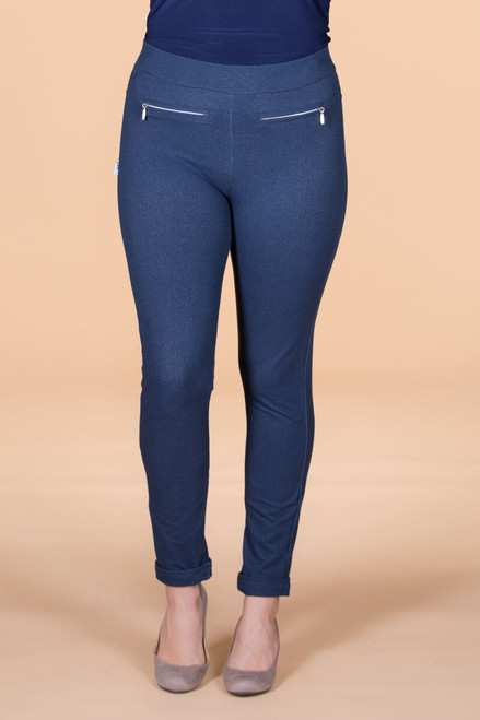 Get a Leg Up Jeggings - Blue
