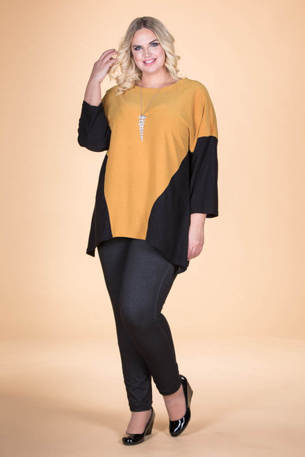 Easy Breezy Drop Shoulder Tunic - Oaker