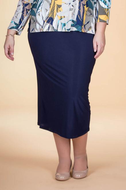 Not Just for Special Occasions Long Skirt - Blue
