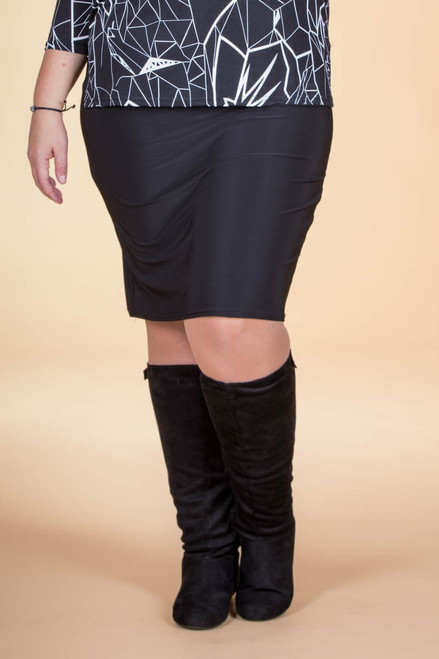 Fashionista Short Skirt - Black