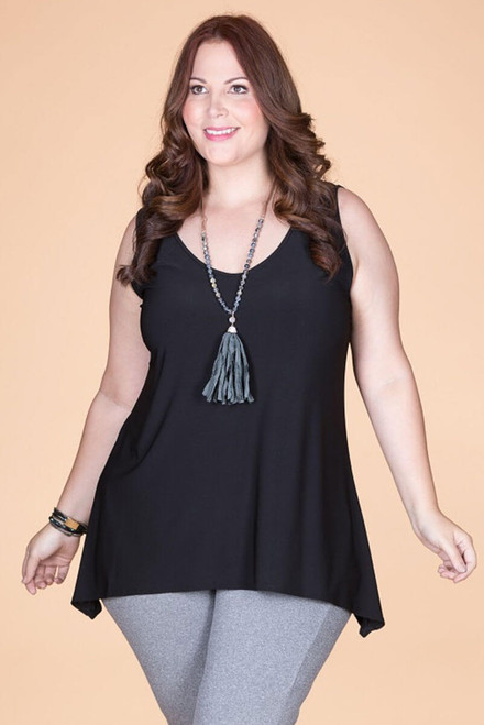 Style Setter Lux Tank - Black