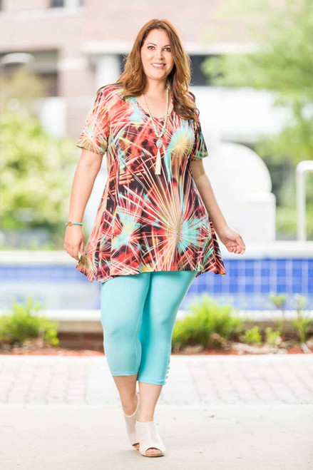 0939bdd65e2 Printed Tops for Curvy Women