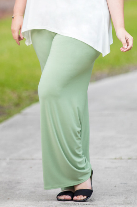 Boulevard of Dreams Pants - Green Khaki