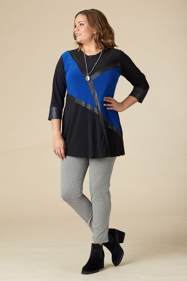 THAT GIRL TUNIC - COBALT BLUE