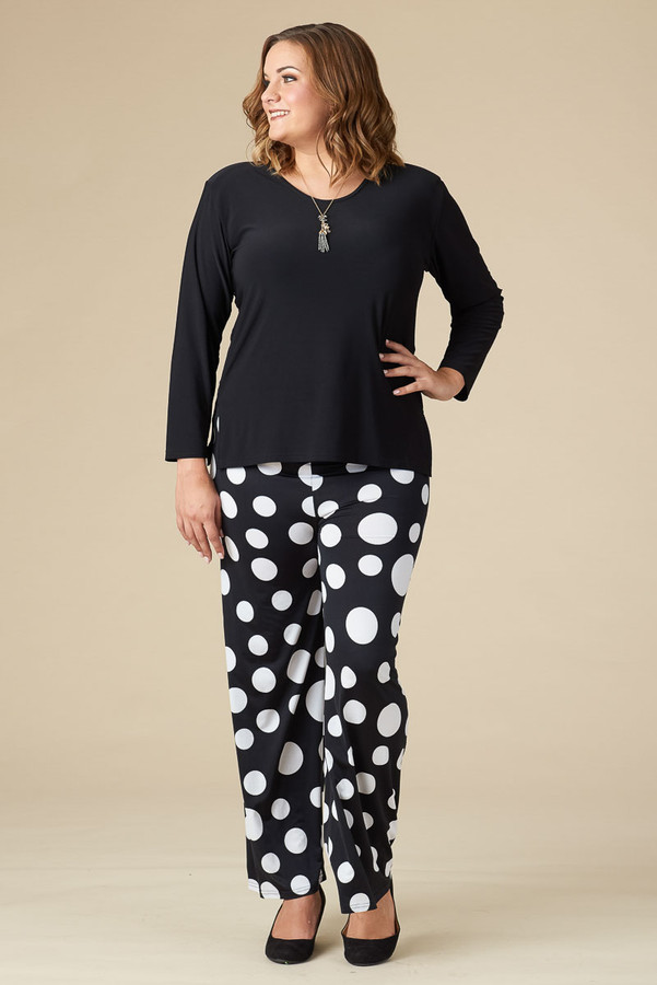 Boulevard of Dreams Pants - Disco Spotted Print