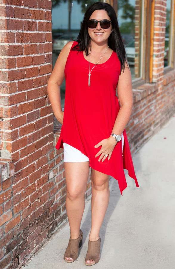 Show it off Tunic - Red