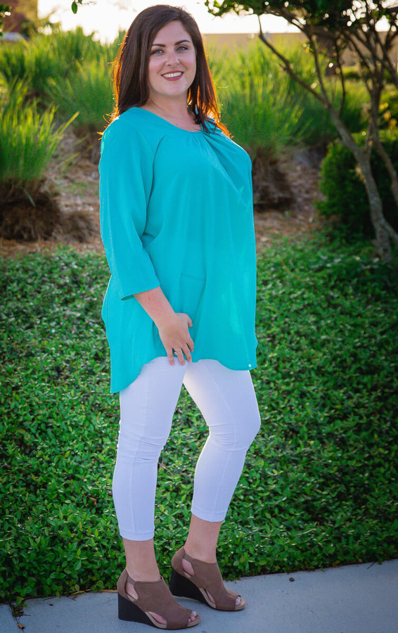Love At First Sight Top- Mint