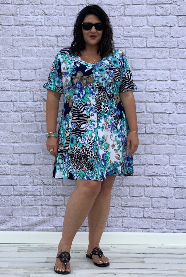 Pretty as a Picture Dress - Floral