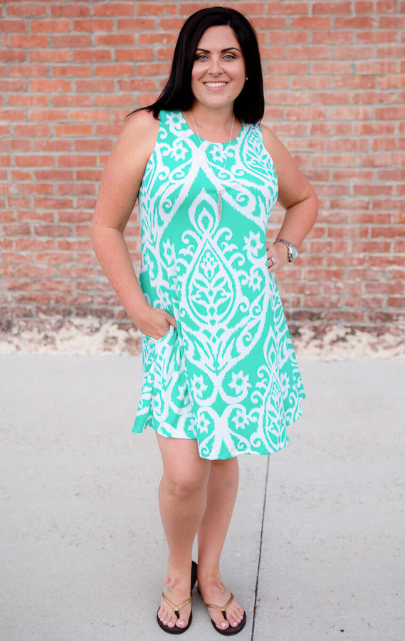 Day Dreamer Dress- Mint