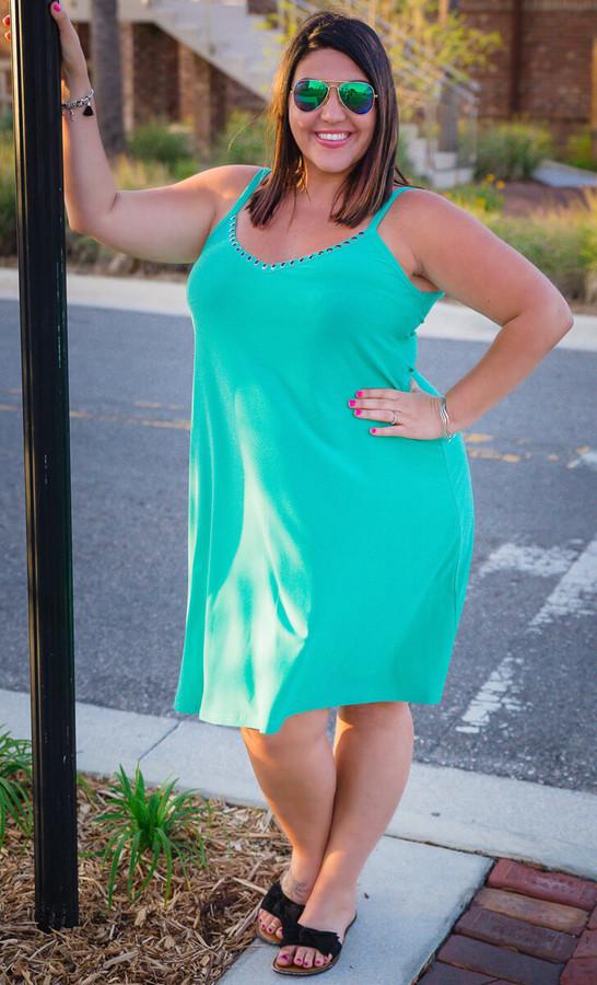 Lucky In Love Dress-  Mint