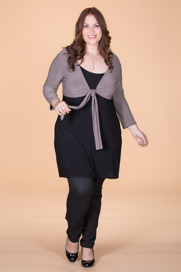 All You Need Bolero Jacket - Taupe