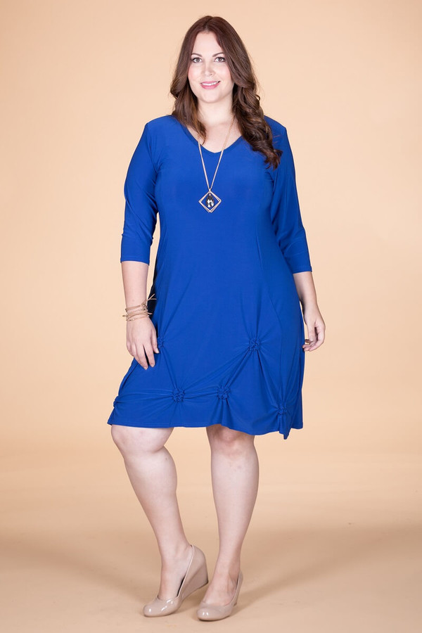 In a Pinch Dress - Cobalt Blue