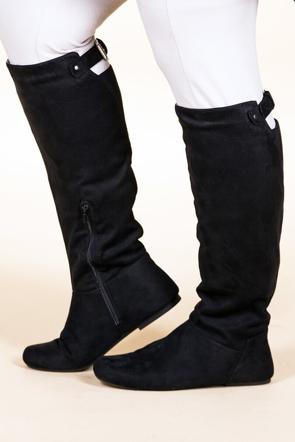Super Soft Suede ƒ??  Black