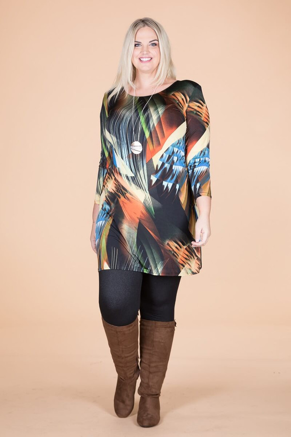 A Multi-Tasker, Just Like Me Dress - Disco Lights Print