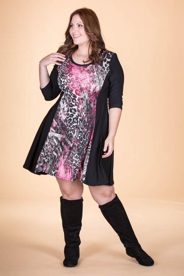 Keynote Speaker Dress - Pink Animal Print