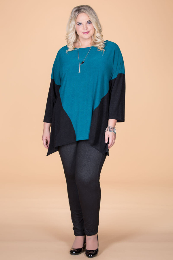 Easy Breezy Drop Shoulder Tunic - Petrol