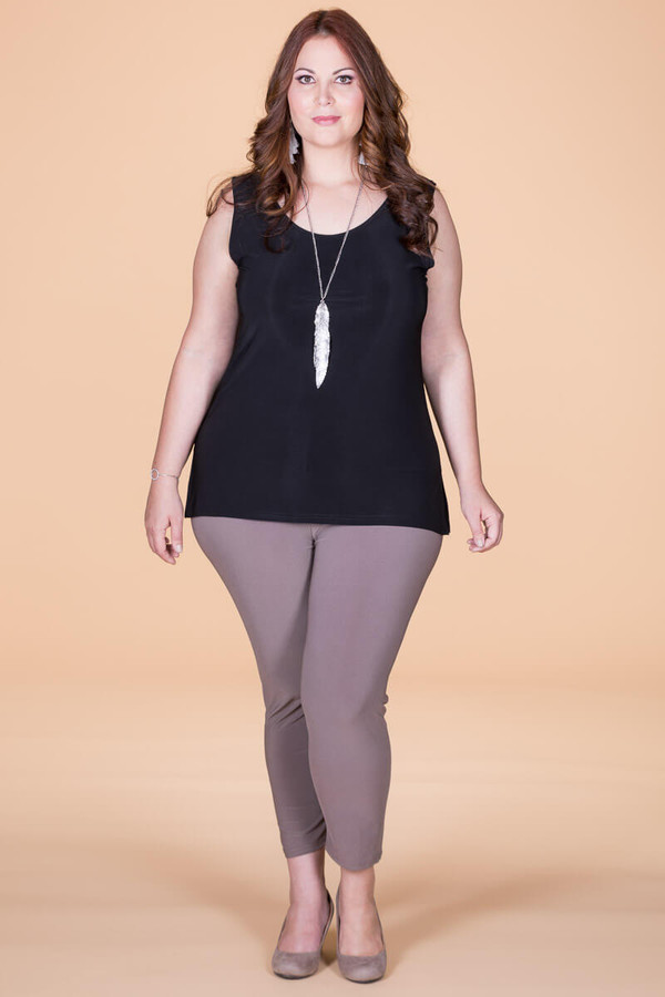 An Affair to Remember Leggings - Taupe