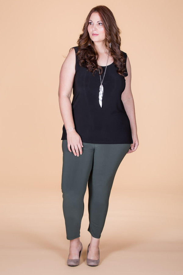 An Affair to Remember Leggings - Olive