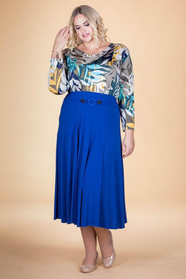 No Time Like the Present Skirt - Cobalt
