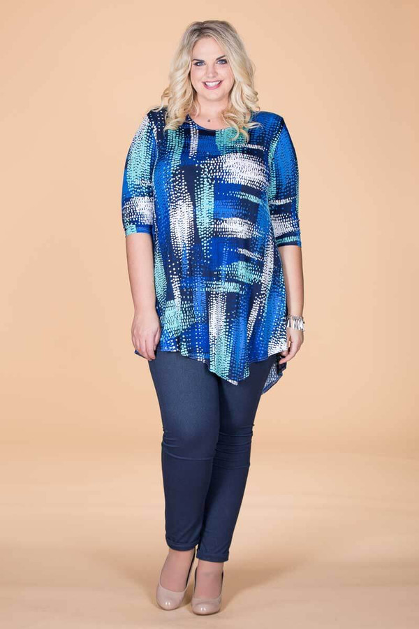 Say it Out Loud Tunic - Avalanche Print