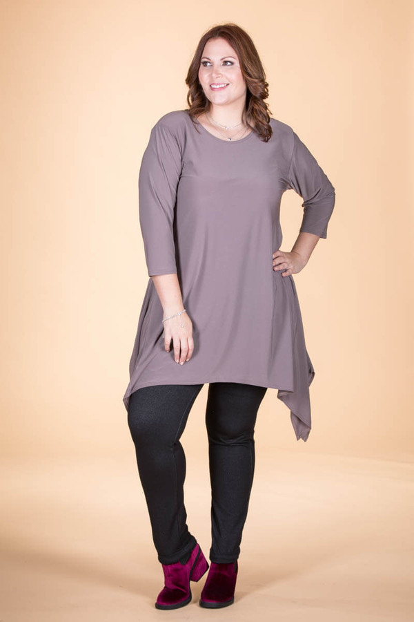 Your Best Foot Forward Tunic - Taupe