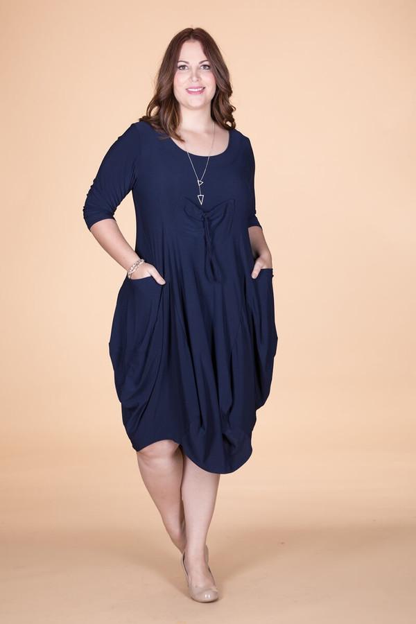 Pleasant Dreams Pocket Dress - Blue