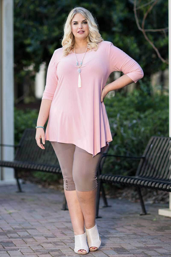 Say it Out Loud Tunic - Rosa