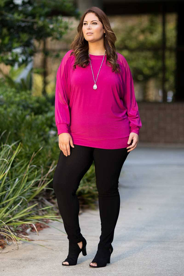Steppin' Out of the House Cute Blouse - Pink