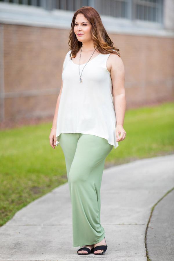 Boulevard of Dreams Pants - Green Khaki