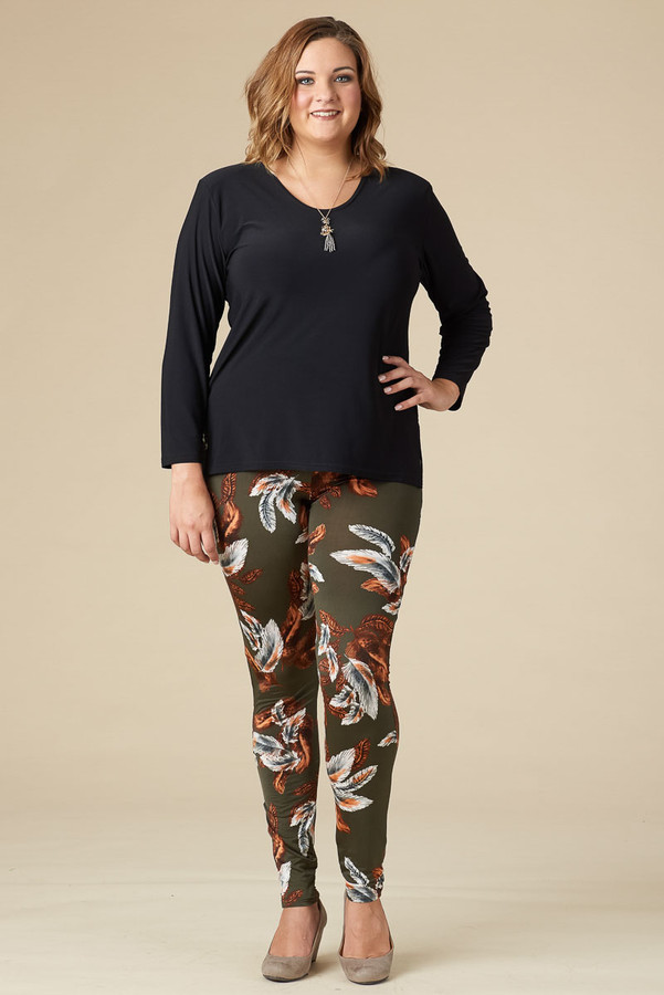 Instant Favorite Legging - Feather Print