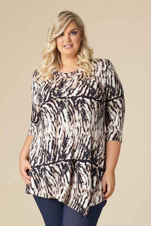 Say it Out Loud Tunic - Wild Side Print