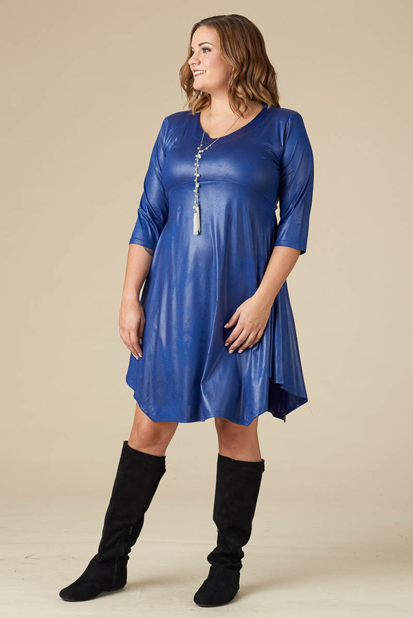 Out For the Night Party Dress - Cobalt
