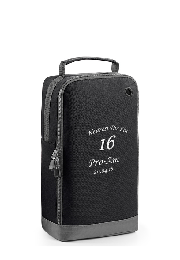 Golf Shoe Bag >> Personalised Golf Shoe Bag 6 Colours Free Personalisation Uk Delivery