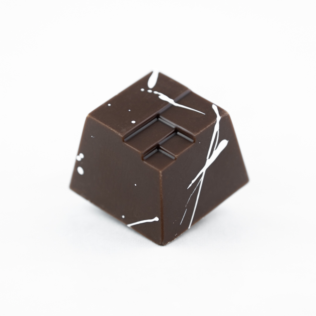 Goat milk caramel with milk chocolate
