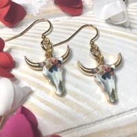 Bungalow Blonde - Steer Hear Earrings
