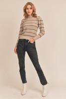 Lush Taupe Brown Sweater