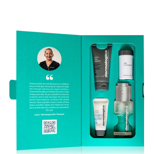 Dermalogica Clear Skin Confidence Kit open