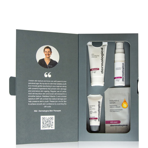 Dermalogica Smooth Skin Confidence Kit Open