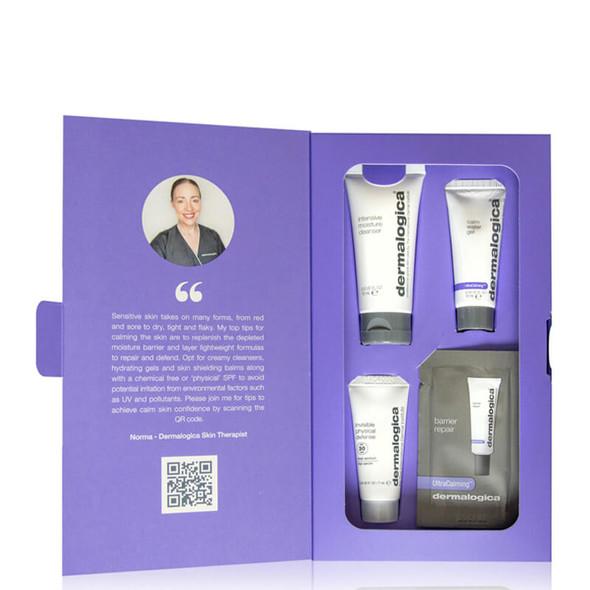 Dermalogica Calm Skin Confidence Kit open