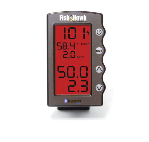Fish Hawk Bluetooth enabled LCD