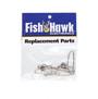 Fish Hawk Breakaway Double Snap Swivel 2-pack