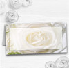 White Rose Wedding Table Seating Name Place Cards