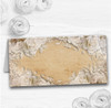 White Roses Vintage Shabby Chic Postcard Wedding Table Seating Name Place Cards